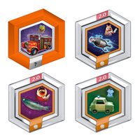 Disney Infinity Muppet power discs