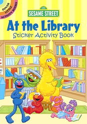 Dover at the library sticker