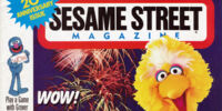 Sesame Street Magazine (Jan - Feb 1991)