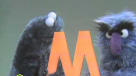 Sesame Street Letter M Monster Meal