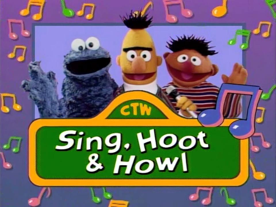 Sesame Street Sing Hoot And Howl Vhs Sing, Hoot & Howl ...