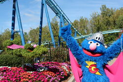 Sesame Place Super Grover