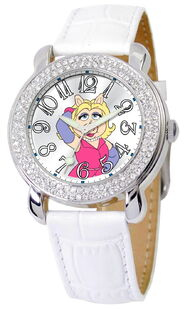Ewatchfactory 2011 miss piggy shimmer watch