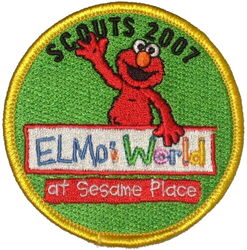 Sesame place patch scouts 2007