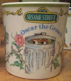 Gorham1977OscarGrouchMug