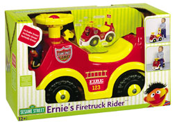 Processed plastic company pp ernie's fire truck rider 2