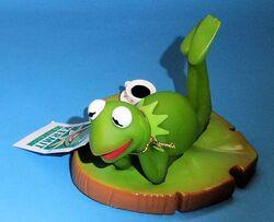 Igel junior toys kermit lily pad pvc squeak toy german