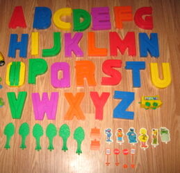 Alphabet roadway 3