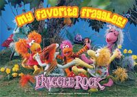 Poster Fraggle Rock-My Favorite Fraggles!
