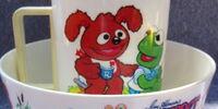 Muppet Babies tableware (Deka)