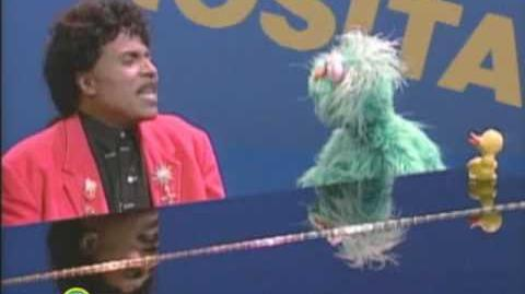 Sesame Street Little Richard Sings Rosita