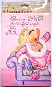 Hallmark party invitations miss piggy
