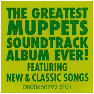 The Muppets soundtrack sticker