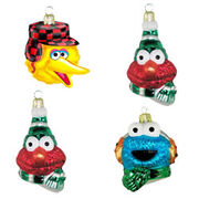 Kurt Adler glass head ornaments