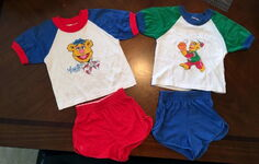 Artex fozzie top and shorts outfits 1