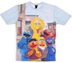 Mr gugu and miss go truffleshuffle t-shirt character print