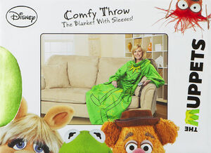Kermit Comfy Throw