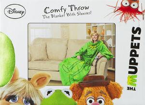 Kermit Comfy Throw