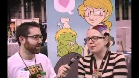 Tough Pigs at New York Comic Con Katie Cook interview