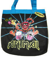 Animal drums tote bag