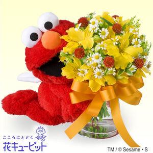 Elmo bouquet japan
