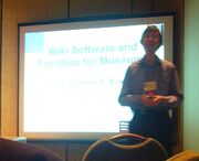 JPB at MW2008 wiki workshop