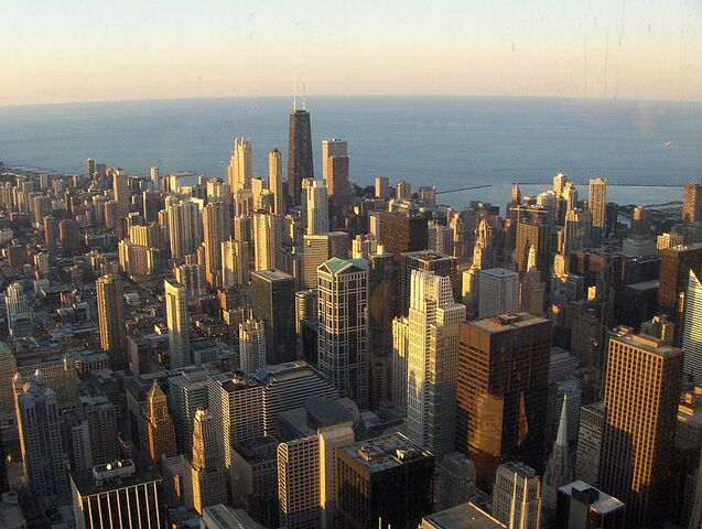 File:797px-Chicago downtown view from Sears.jpg
