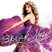 Speak Now Taylor Swift Album Cover