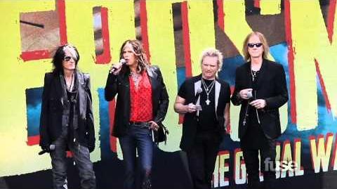 Aerosmith on Global Warming Tour, Idol Disqualification