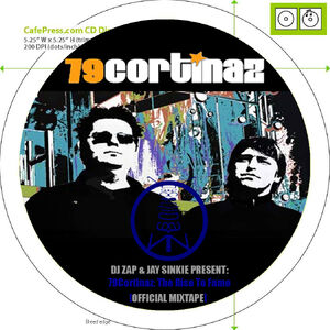 79Cortinaz- The Rise To Fame (Official Mixtape) - CD Facing