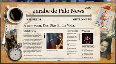 A Musical Newspaper