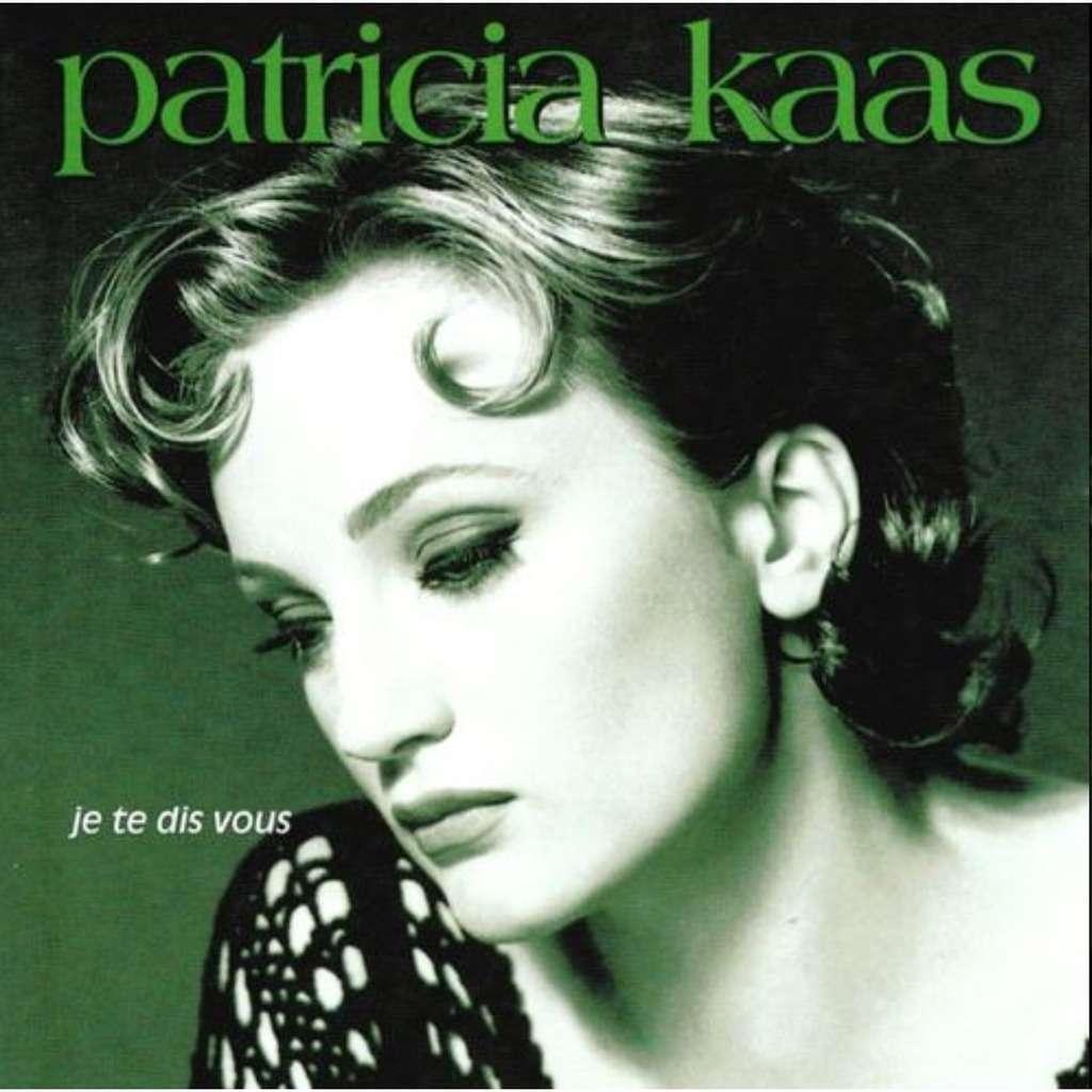 """Résultat de recherche d'images pour """"patricia kaas je te dis vous"""""""