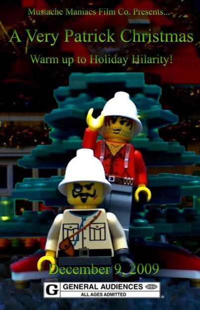 A Very Patrick Christmas Poster