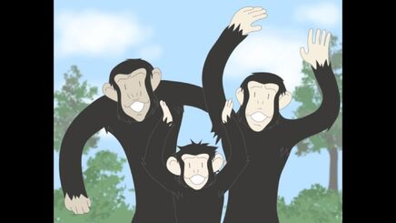 Cheering Chimps