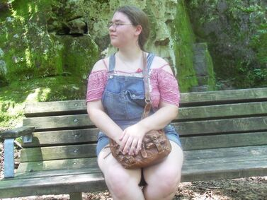 Me on a bench