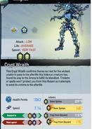 B Crypt Wraith