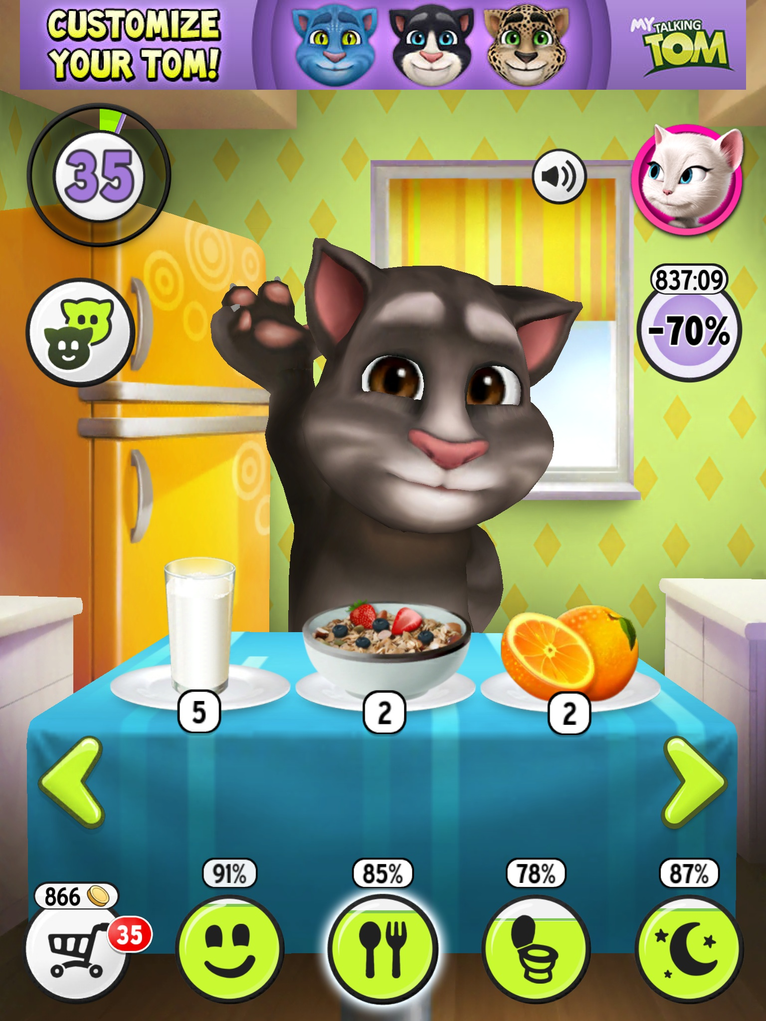 video my talking tom