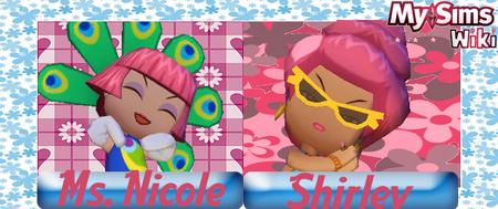 Nicole or Shirley