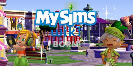 MySims Wiki Born Banner