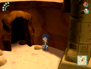 Cute Prospecting Cave Entrance