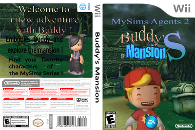 Buddy's Mansion Boxart