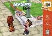 MySims(N64)boxcover