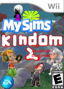 MySims Kingdom 2 Boxart