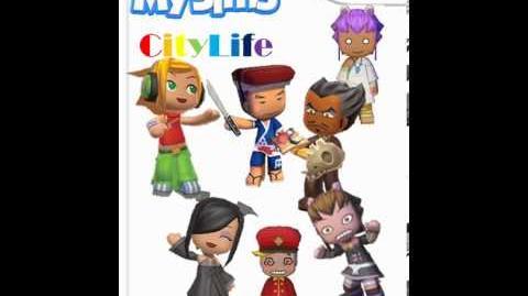 MySims CityLife- Day Theme 1-0