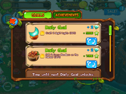 Daily goal craft and sell