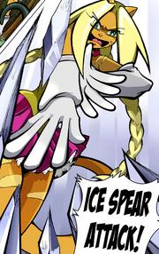 Ice spear