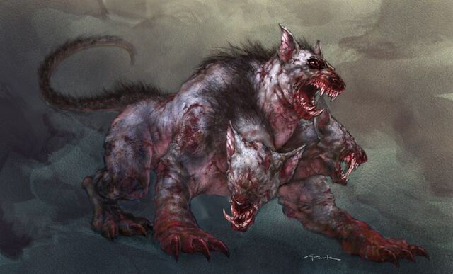 File:Mole Cerberus concept art in God of War II.jpg