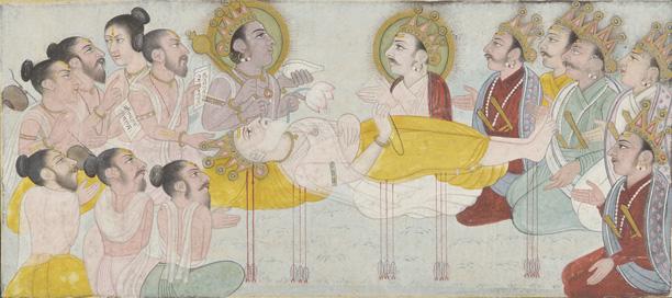 File:The Death of Bhishma.jpg