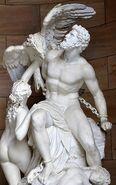 Prometheus and the eagle