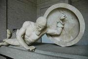 Aphaia pediment Laomedon E-XI Glyptothek Munich 85